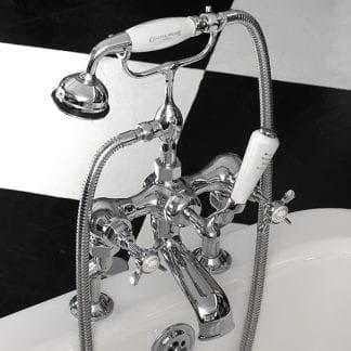 Edwardian Bath Mixer (Deck Mounted)
