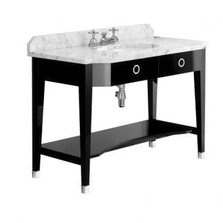 Cubist Vanity Console Table (Seconds, Marble Top)
