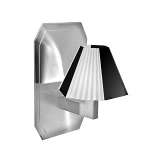 Cubist Wall Light on Back Plate