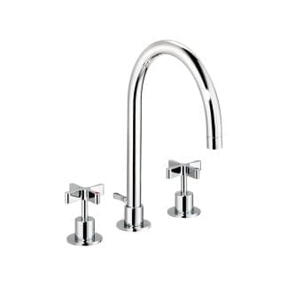 DCA Basin Mixer Large (Pop Up Waste)