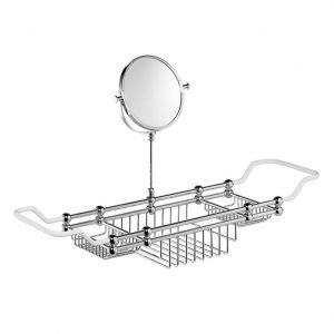 Edwardian Bath Rack with Mirror
