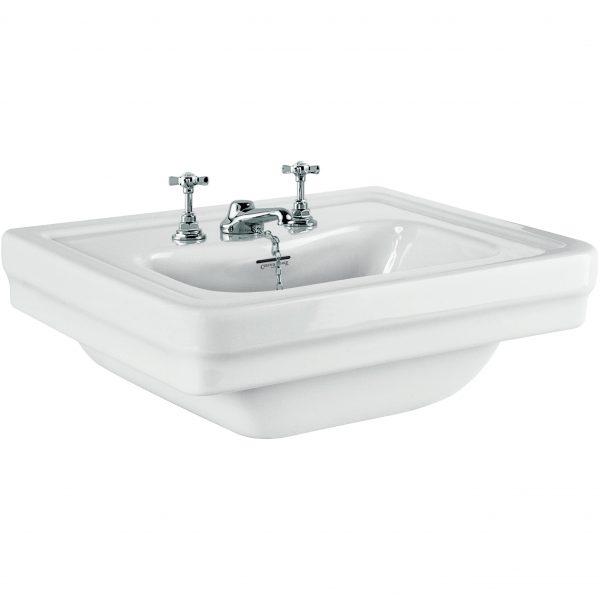 "fs Hand Washbasin 500 x 400mm (19 ¾"" x 15 ¾"")"
