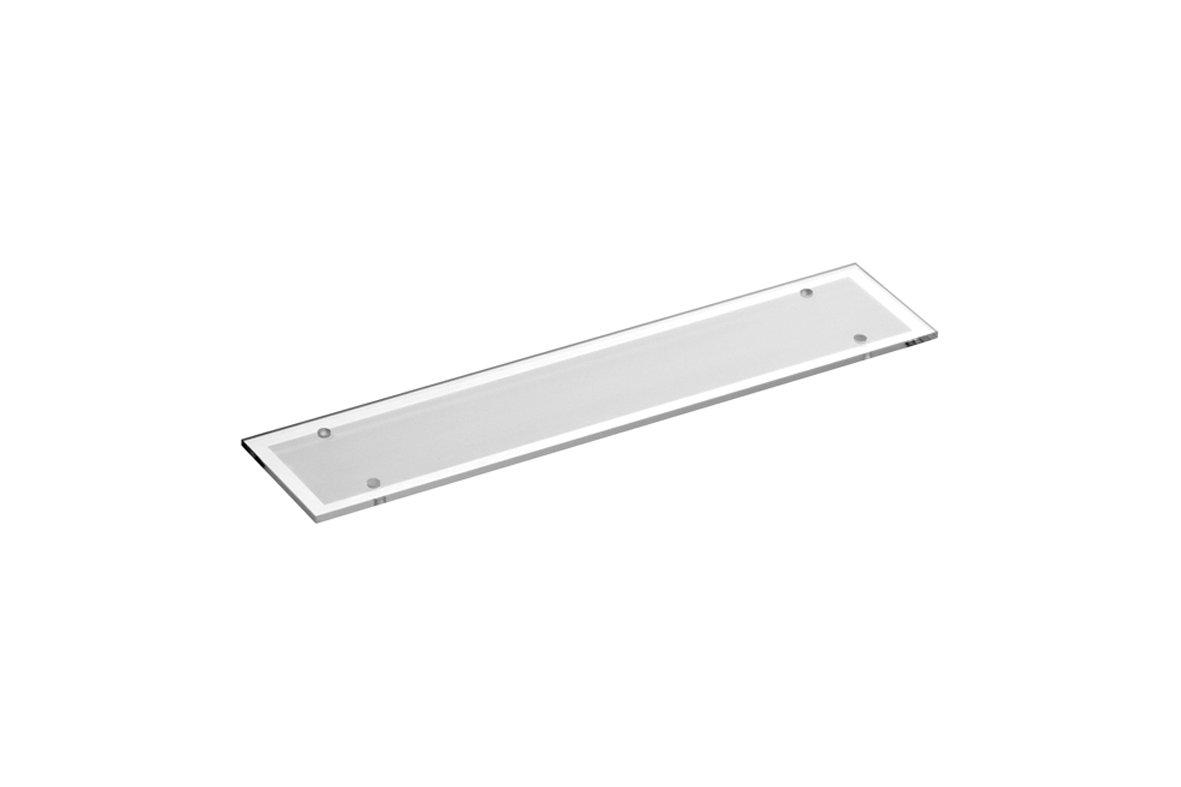 Replacement Edwardian Glass Shelf 460mm (18\