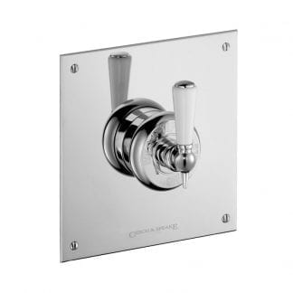 "Edwardian Concealed 3/4"" Thermostatic Shower Mixer"