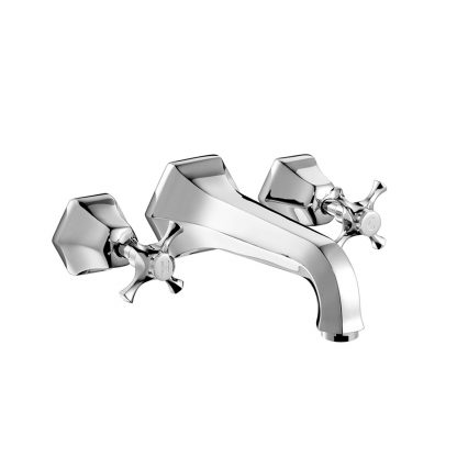Cubist Wall Mounted Bath Mixer