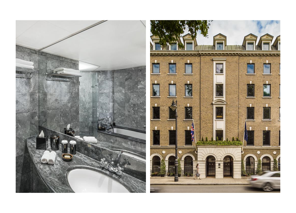 Como The Halkin Hotel Belgravia-Suite czech & Speake fittings