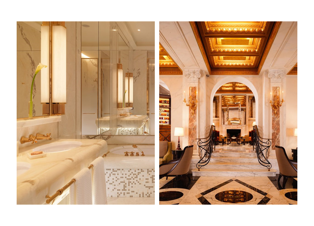 Hotel Eden Rome by Dorchester Collection Cubist Czech & Speake Collection