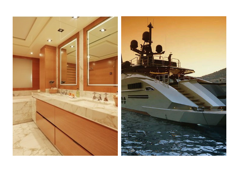 DB9 - a Cool Charter Yacht bathroom