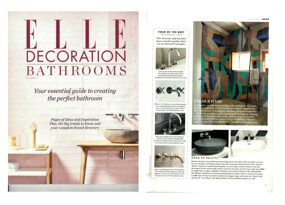 ELLE Decoration - Best Crosshead Taps