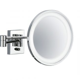 Monochrome Wall Mounted Mirror (Led)