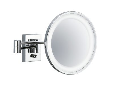 Chrome Wall Mounted Mirror (Led)