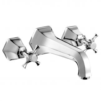 Cubist Basin Mixer (Wall Mounted) (Seconds)
