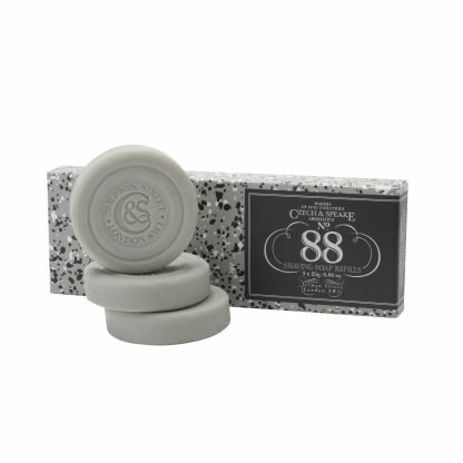 No.88 Travel Shaving Soap Refills 3x25g