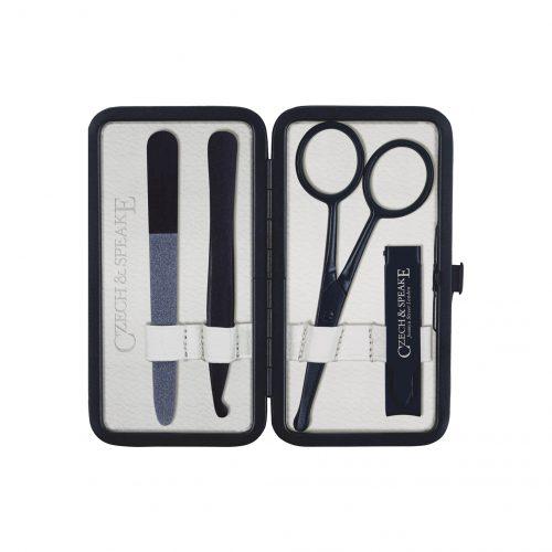 Air-Safe Manicure Set - Black/White Teflon