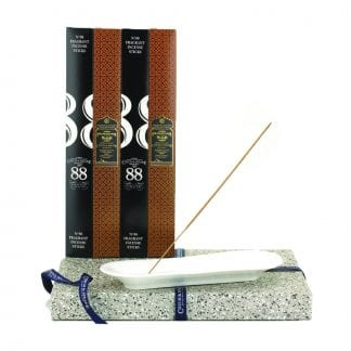 Incense Stick Kit - Holder with No.88 and Frankincense and Myrrh