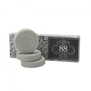 No.88 Travel Shaving Soap 3x25g