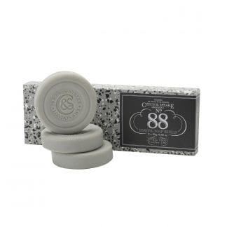 No.88 Travel Shaving Soap 3x25g