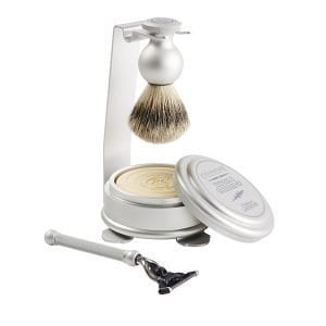 Oxford & Cambridge Shaving Set & Stand