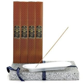 Incense Stick Kit - Holder with Frankincense & Myrrh