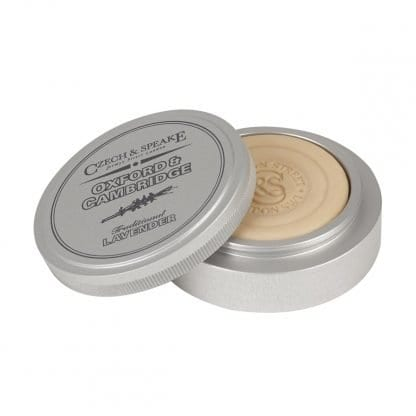 Oxford and Cambridge Travel Shaving Dish with Soap