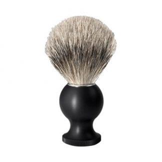 No.88 Silver Tip Badger Shaving Brush, Black