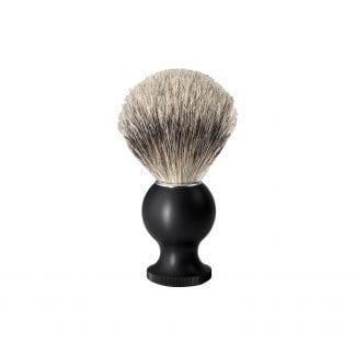 No.88 Badger Travel Shaving Brush, Black