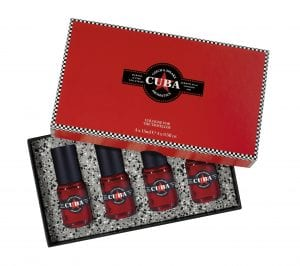 Cuba Cologne for the Traveller 4x15ml