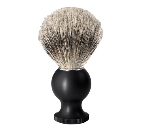 No.88 Large Silver Tip Badger Shaving Brush, Black