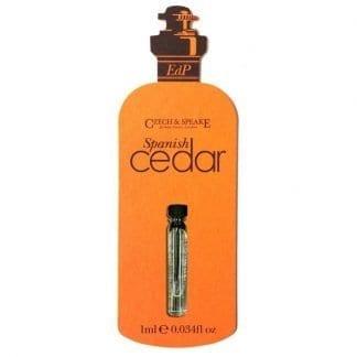 Spanish Cedar 1ml sample - Edp