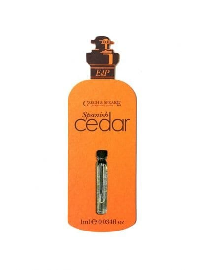 Spanish Cedar EdP 1ml Sample