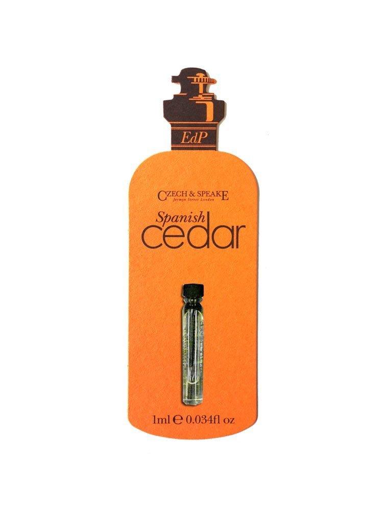 Spanish Cedar EdP 1ml Sample