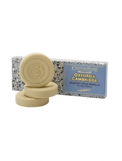 Oxford & Cambridge Travel Shaving Soap 3x25g