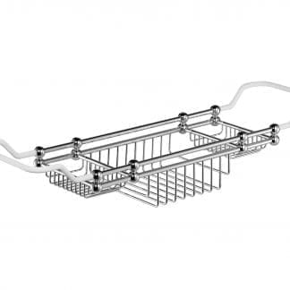 Edwardian Bath Rack in Chrome
