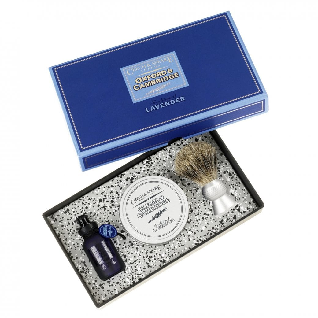 Oxford & Cambridge Travel Shaving Set