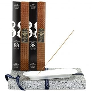 Incense Stick Kit - Holder with No.88 & Frankincense & Myrrh Incense