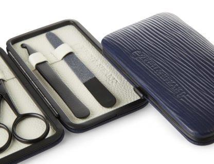 Air-Safe Manicure Set - Blue & White