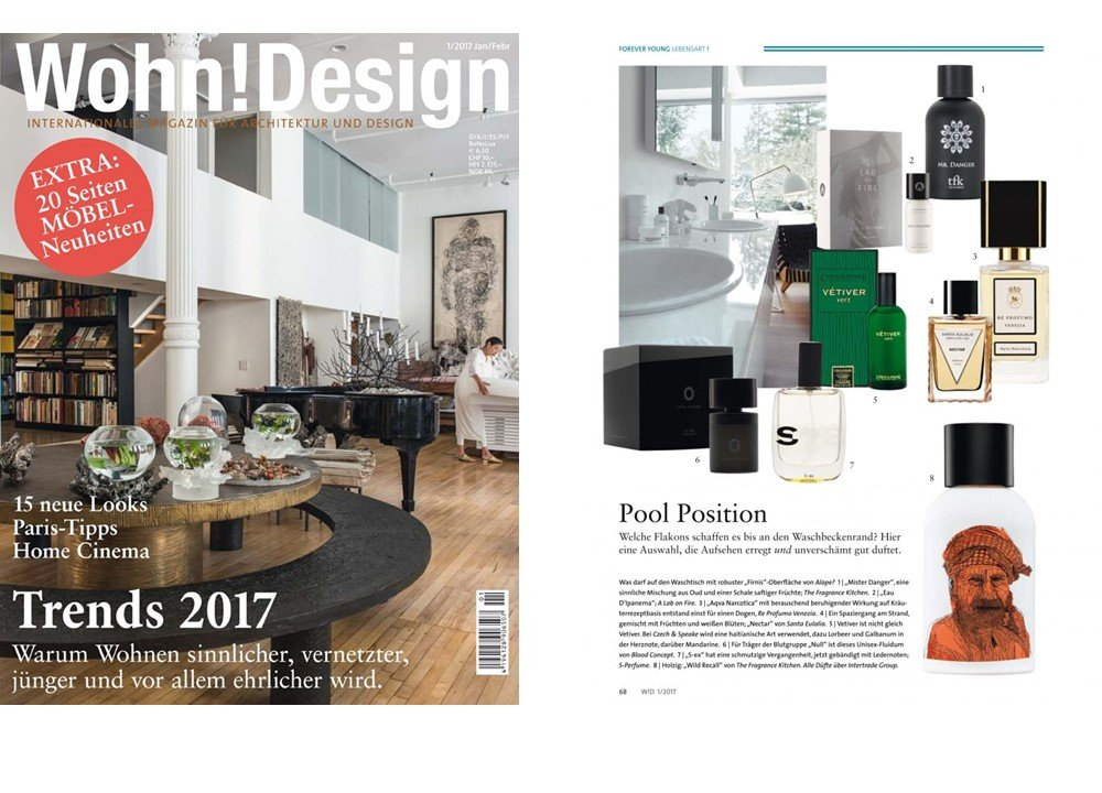Wohn Magazine wohn design germany pool position with vetiver vert c s fragrance