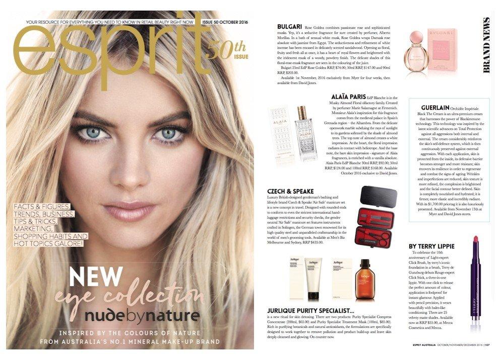 Esprit Magazine - Brand News - C&S Fragrance