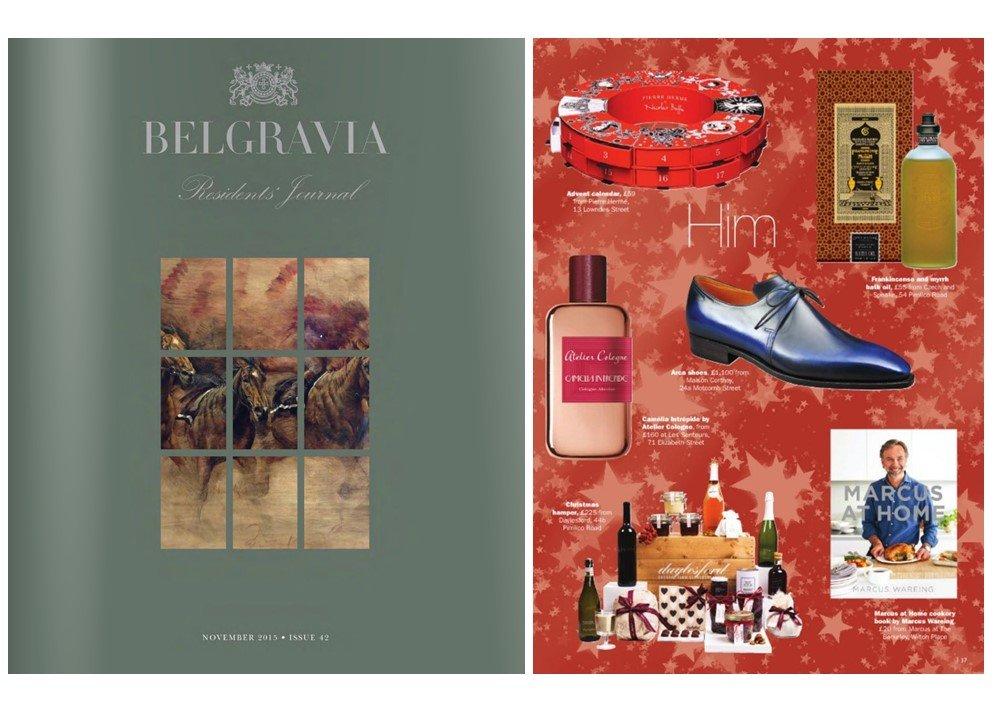 Christmas Gift Guide Magazine.Belgravia Residents Journal Christmas Gift Guide C S