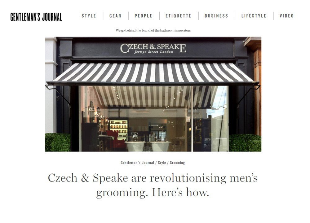 Revolutionising Men's grooming