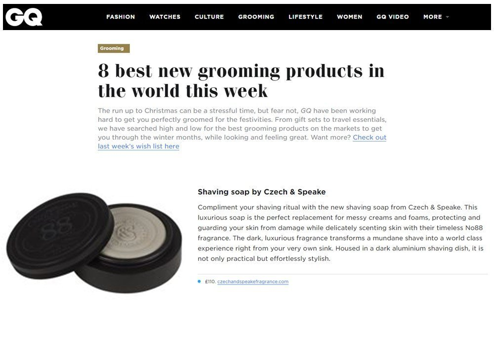The run up to Christmas can be a stressful time, but fear not, GQ have been working hard to get you perfectly groomed for the festivities. From gift sets to ...