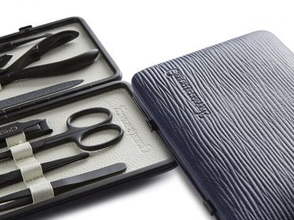 Manicure Set - Blue/White Teflon