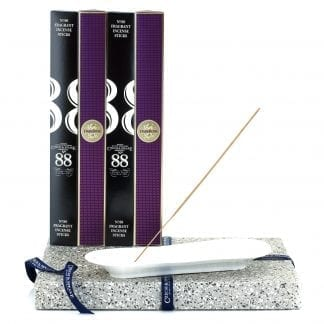 Incense Stick Kit – Holder with No.88 and Dark Rose