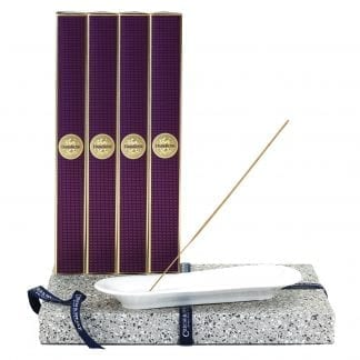 Incense Stick Kit – Holder and 4 x Dark Rose 20pk