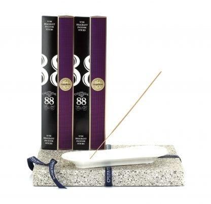 Incense Stick Kit – Holder and 4 x Dark Rose 20pk