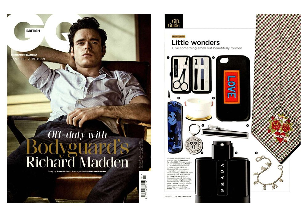 """GQ have complied a gift guide of 'Little Wonders', as they describe it; to """"Give something small but beautifully formed""""."""