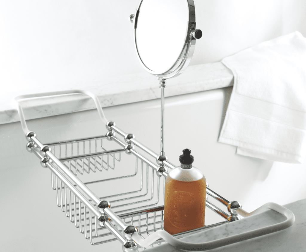 Neroli Bath Oil 200ml on Edwardian Bath Rack