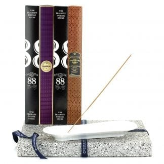Incense Stick Kit – Holder with No.88, Dark Rose and Frankincense & Myrrh